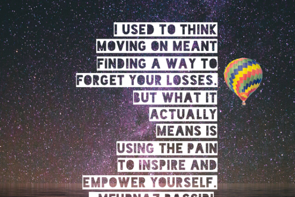 inspirational quote about moving on